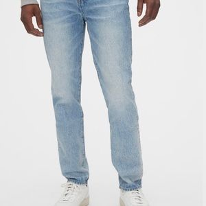 Gap Men's Easy Taper Jeans lightblue(medium stone)